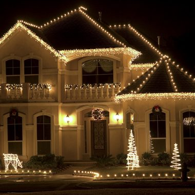 durham region home after holiday lighting installation service