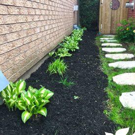 backyard landscape garden work by itrim4u