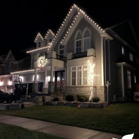 holiday lighting installed by itrim4u