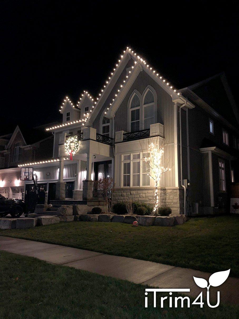 holiday lighting installed by itrim4u
